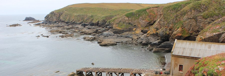 Polpeor Cove to Lizard Point, Ruth on SW Coast Path