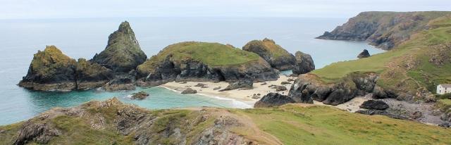 Kynance Cove, Ruth's coastal walk, SWCP