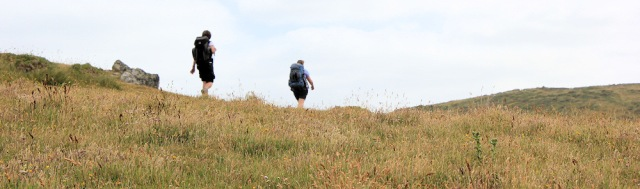 proper hikers, SWCP, Ruth's coastal walking