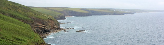 view back to Porthleven Sands, Ruths coast walking