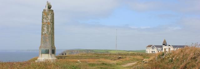Marconi Monument, Ruth's coastal walking around the UK, Cornwall