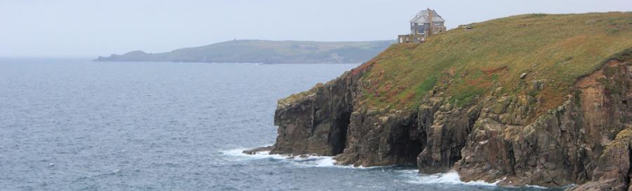 House on Rinsey Head, Ruth's coast walk