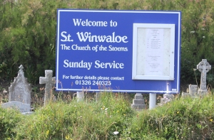 St Winwaloe, Church of the Storms, Ruth on SWCP