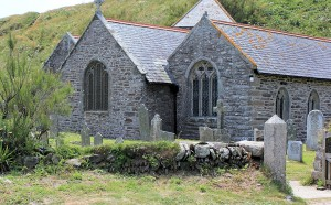 St Winwaloe, Church of the Storms, Ruth in Cornwall