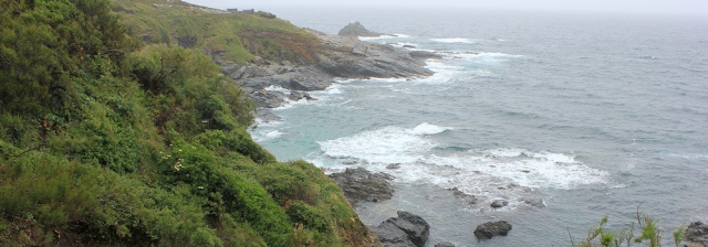 pirate coves and The Enys, Ruth on SWCP