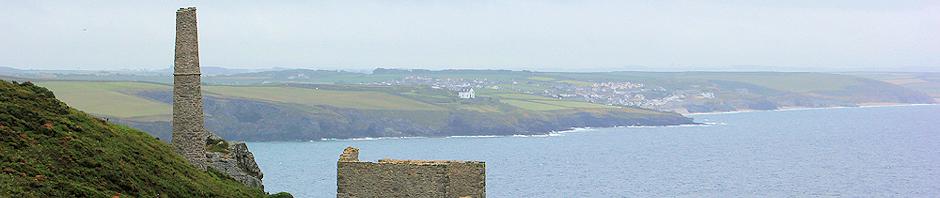 Coastal walk, copper mines