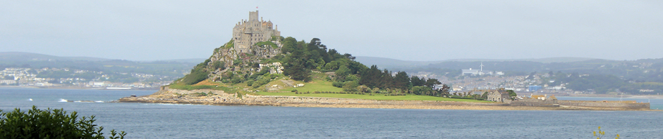 St Michaels Mount, Ruths coastal walk
