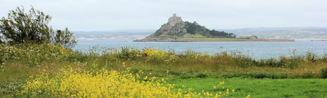 St Michaels Mount, Ruth Livingstone, coastal walk