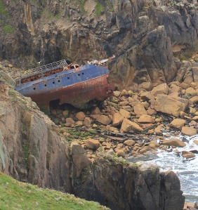 wreck of RMS Mülheim, Cornwall, Ruth Livingstone