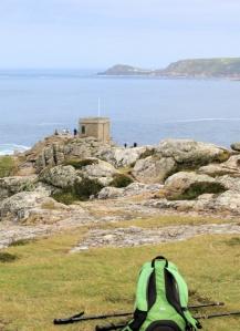 Pedn-men-du, Ruth walks the South West Coast Path, Cornwall