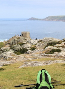 Pedn-men-du, Ruth walks the South West Coast Path, Cornwall