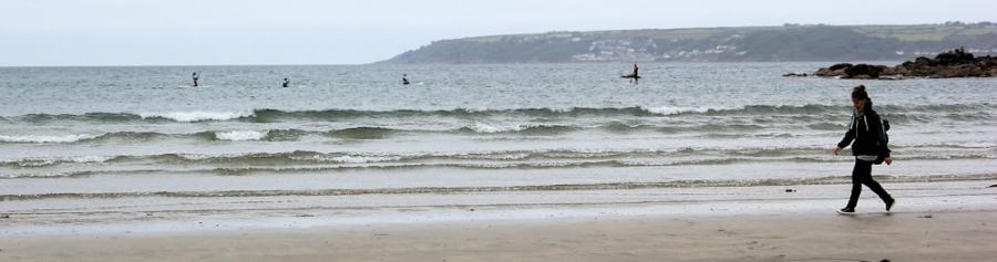 Beach to Penzance, Ruth's coastal walk