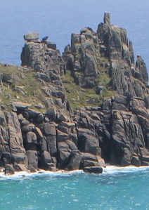 Logan Rock, photograph by Ruth Livingstone