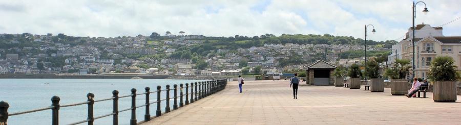 Wherry Town, Penzance, Ruth walking around the coast of the UK