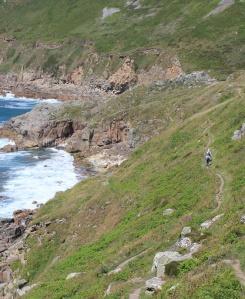 walkers, South West Coast Path, Ruth Livingstone