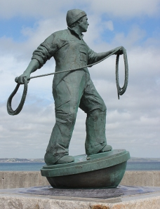 Fishermen Memorial, Newlyn. Photograph by Ruth Livingstone
