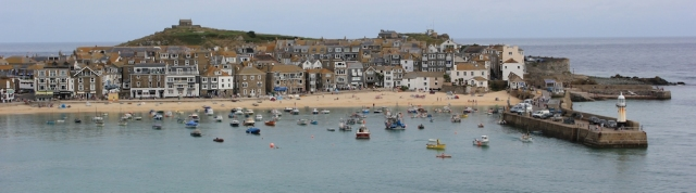 St Ives, Ruth's coastal walk around the UK