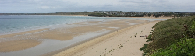 Porth Kidney Sands, Ruth's coastal walk