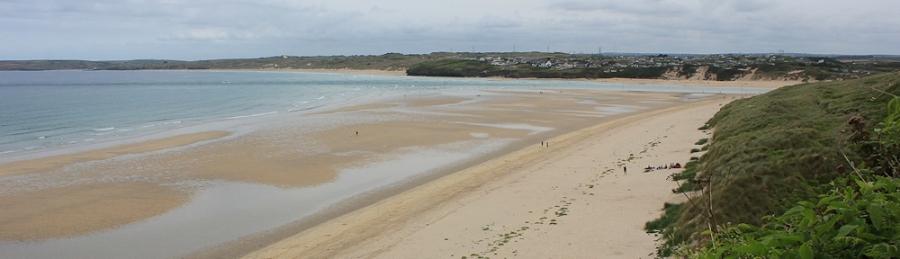 Porth Kidney Sands, Ruth's coastal walk