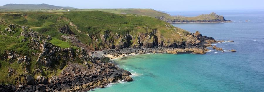 view from Zennor Head, Ruth coastal walk, Cornwall