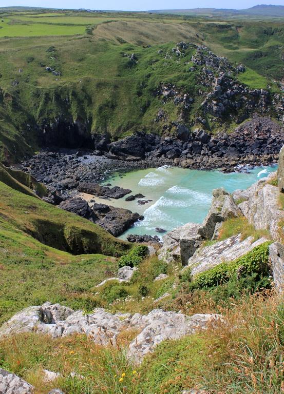 Pendour Cove, mermaid territory, Ruth's coastal walk in Cornwall
