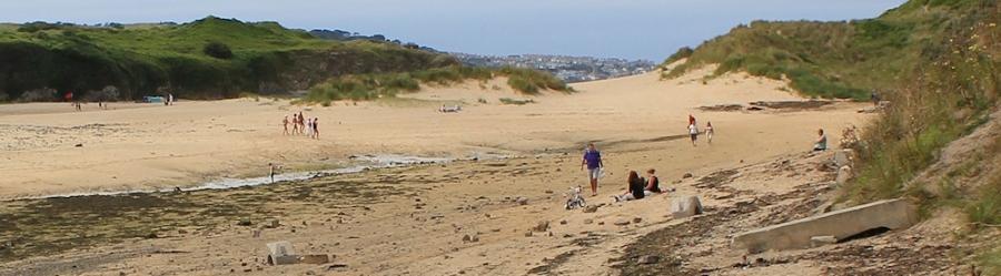 Sand dunes, Hayle, Ruth's coast walking