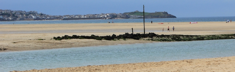Over to St Ives, from Hayle Towans, Ruth Livingstone