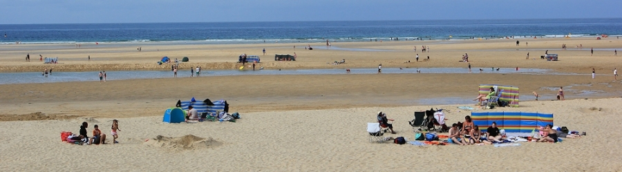 Beach, Hayle Bar, Ruth Livingstone