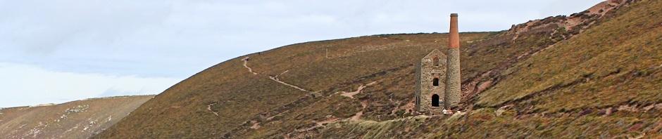 St Agnes tin mines, Ruth Livingstone