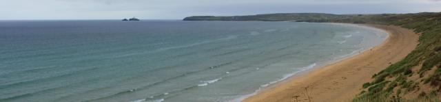Hayle Towans 3 mile beach, Ruth's coastal walk