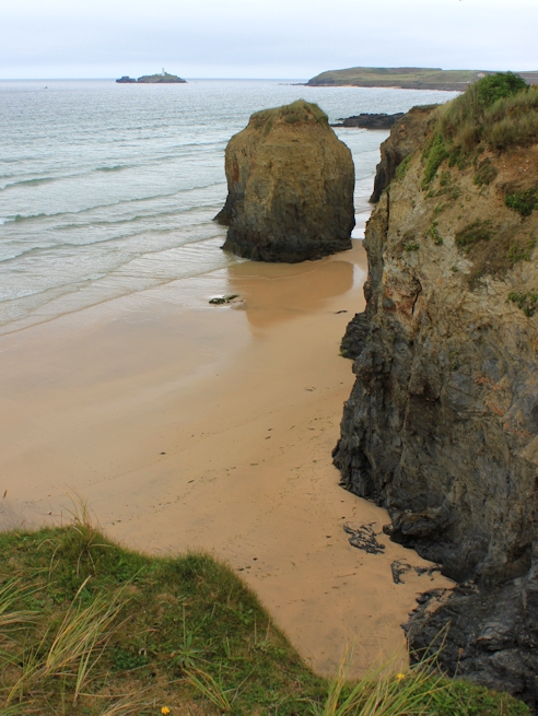Strap Rocks, Hayle Beach, Ruth's coast walking