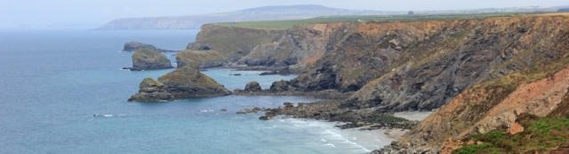 Portreath and Agnes Head, Ruth's coastal walk, SWCP