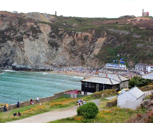 Drama of St Agnes, Ruth on Coastal walk