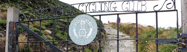 Motor Cycling Club, Ruth walking St Agnes