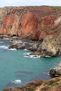 amazing cliffs, Cligga Head, Ruth's coastal walk