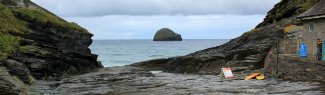 01 Trebarwith Strand, Ruth's coast walk