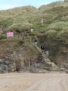 climb over Cotty's Point, Ruth's coastal walk