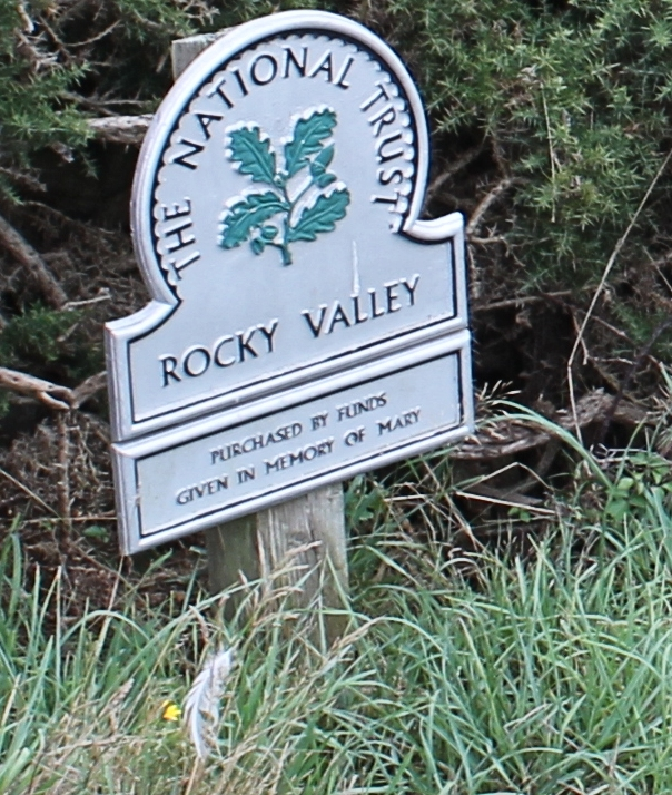 National Trust, Rocky Valley, Ruth's coast walk in Cornwall