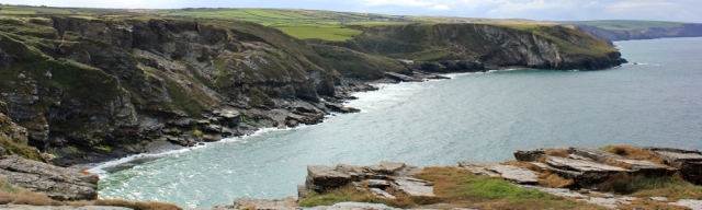 04 quarried coastline, near Tintagel, Ruth Livingstone