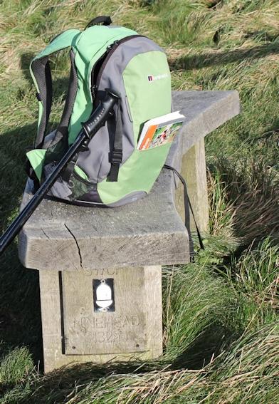 Minehead 132 miles, Ruth on the SWCP, Cornwall