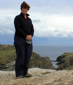 overlooking Tintagel Head