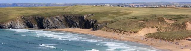 Holywell Beach, Ruth's coastal walk, Cornwall, SWCP