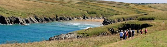 Porth Joke, Cornwall, Ruth's coastal walk, South West Coast Path