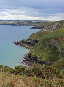 path to Port Quin, Ruth's coastal walk, north Cornish coast