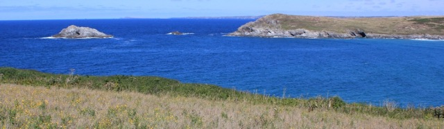 looking towards Trevose Head, Ruth's north Cornwall, SWCP