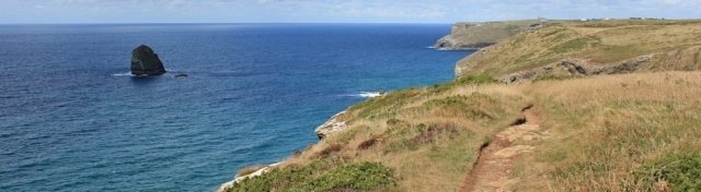 16 Tregardock Cliffs, near Tintagel, Ruths coast walk