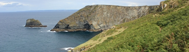 17 The Sisters, walking around Tintagel, Ruth's coast walking