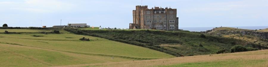 Camelot Castle Hotel, Tintagel, Ruth's coastal walk in Cornwall