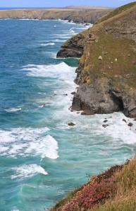 Cliffs toward Park Head, Ruths coast walking