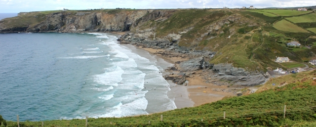 18 Trebarwith Strand, Hole Beach, Ruth's coastal walk, SWCP